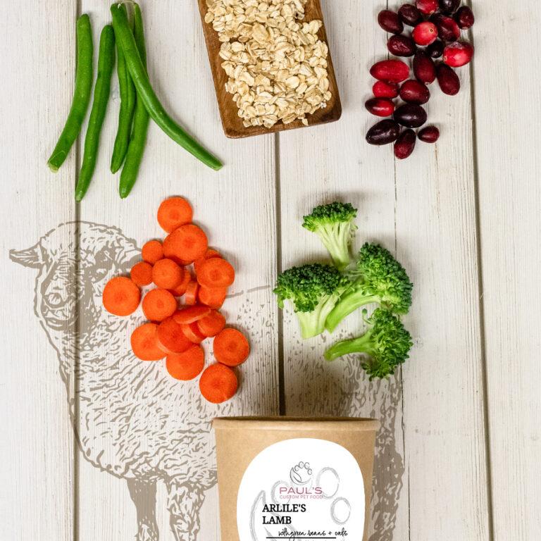 Arlie's Lamb w/ Green Bean & Oats